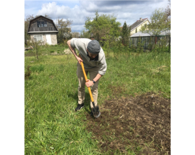 Gleb digging into a problem.